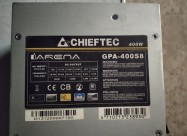 Chieftec 400w, Arena Series, 12cm Fan 400w Real P